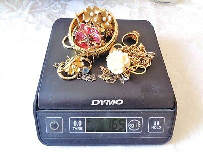 164g gold filled jewelry, keep-resell-repair-signed pieces, scrap or not