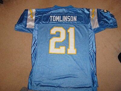San Diego Chargers NFL American Football Jersey - Tomlinson #21 - Mens Large