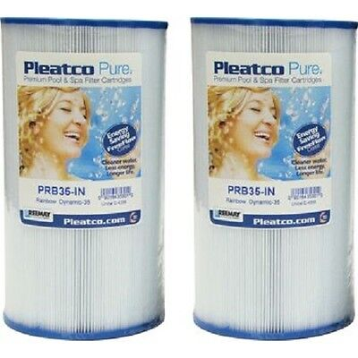 Brand New Pleatco Pure PRB35-IN Spa Filter 2/Pack