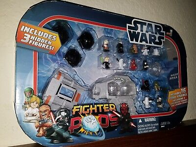 NEW Star Wars Fighter Pods Series 1 16 figures 4 exclusive 3 hidden collectable