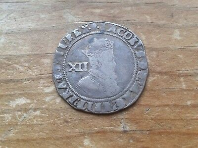 Great Britain James I 1603-1625 AD Silver Shilling lot 3 @@ Must see @@