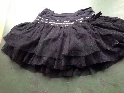 Baby Girls Pretty Black Tutu Skirt 18-24 Months 1.5-2 Years