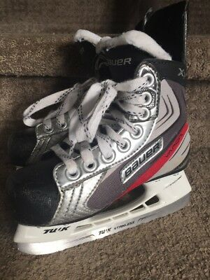 Bauer Kids Ice Skates - Shoe Size Youth 11R - US Y12 - Nice!