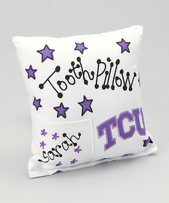Personalized TCU Tooth Fairy Pillow