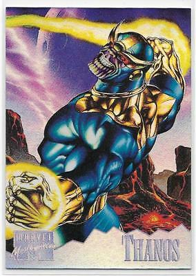 1995 Fleer Marvel Masterpiece Holoflash ( 7 of 8 ) THANOS