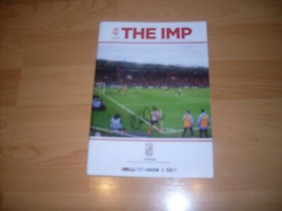 lincoln city v woking signed by 20 lincoln city players 2016/17 season