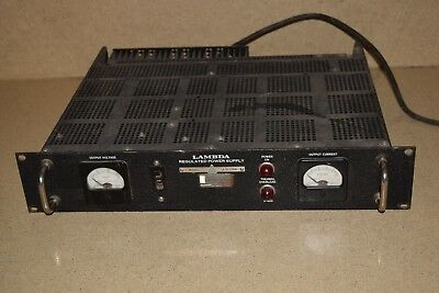 Lambda Model # La 50-03Bm Regulated Power Supply