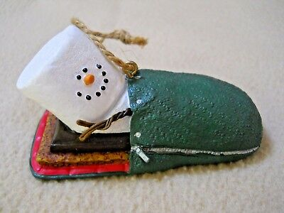 Adorable The Original S'mores Midwest Christmas Ornament / Sleeping bag /Camping