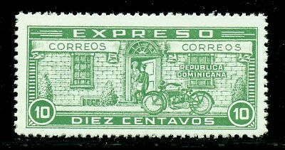 Dominican Republic MNH Selections: Scott #E4 10c Yel Grn Special Delivery CV$3+