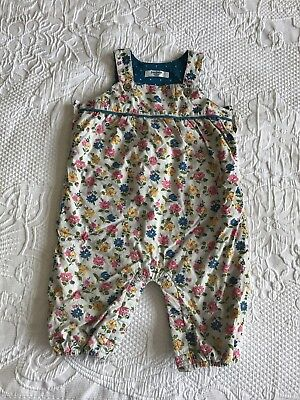 Baby Girl Boden Dungarees | 6-12 Months | Baby Boden | Baby Clothes