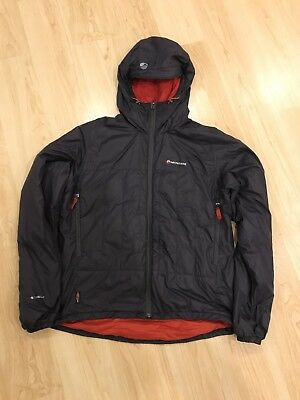 Famous Montane Prism Jacket - Steel Colour In Size L. Great Condition.