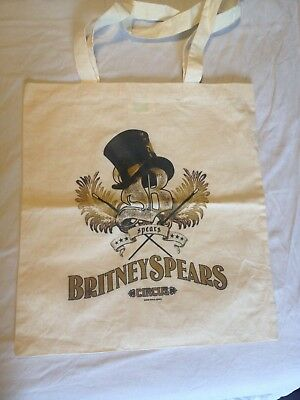 Britney Spears Circus Tour Tote Bag 2009