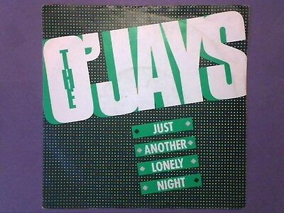"""The O'Jays - Just Another Lonely Night (7"""" single) picture sleeve PIR 1"""