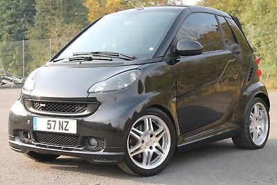 **2008 Smart Brabus Fortwo Xcluvise Auto Coupe Cabriolet Convertible**