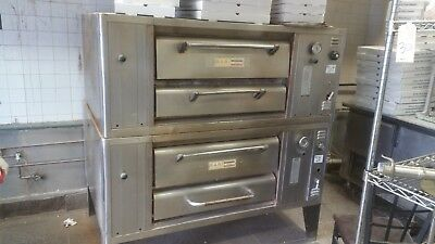 Bari Double Stack 4 Pie Pizza Oven