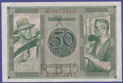 Uncirculated 50 Mark 1920 Banknote From Germany