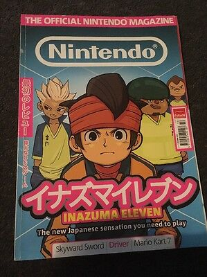 Official Nintendo Magazine Issue 73 October 2011  Inazuma Eleven On Cover