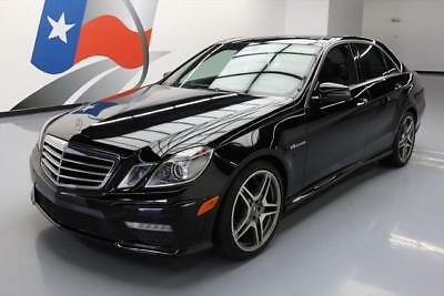 2013 Mercedes-Benz E-Class  2013 MERCEDES-BENZ E63 AMG 518HP PANO ROOF NAV 45K MI #763680 Texas Direct Auto