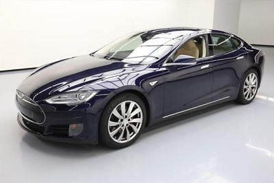 2015 Tesla Model S  2015 TESLA MODEL S 85D AWD HTD LEATHER NAV REAR CAM 34K #P69861 Texas Direct