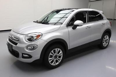 2016 Fiat 500 Lounge Sport Utility 4-Door 2016 FIAT 500X LOUNGE AWD PANO ROOF NAV HTD LEATHER 40K #379594 Texas Direct
