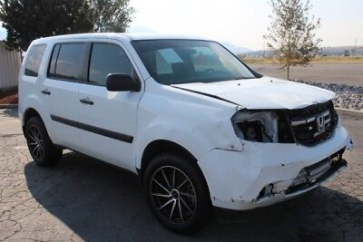 2015 Honda Pilot 4WD 2015 Honda Pilot 4WD Damaged Salvage Repairable Priced to Sell Export Welcome!
