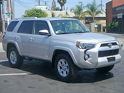 2016 Toyota 4Runner SR5 4WD 2016 Toyota 4Runner SR5 V6 4WD Wrecked Repairable Perfect Project Must See!!