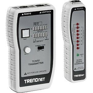 NEW! Trendnet TC-NT2 Cable Analyzer Upto 0.30 Km Lenght Measurement