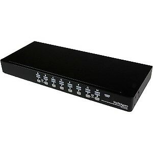 NEW! Startech 16 Port 1U Rackmount Usb Kvm Switch Kit With Osd And Cables 16 Por