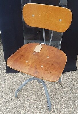 vintage singer machinists adjustable chair