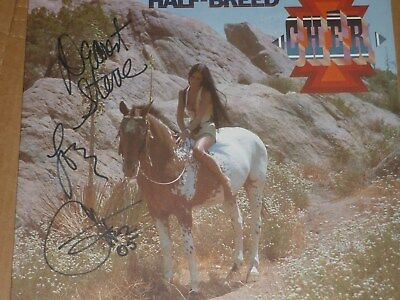 CHER signed lp inscribed super rare autographed album