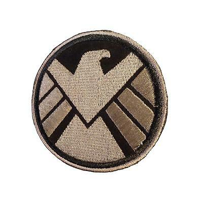 The Avengers movie SHIELD eagle emblema PVC 3D Rubber touch fastener Patch