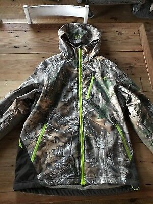 Under Armour Men's Realtree Xtra Scent Control Barrier Hooded Jacket 1259182