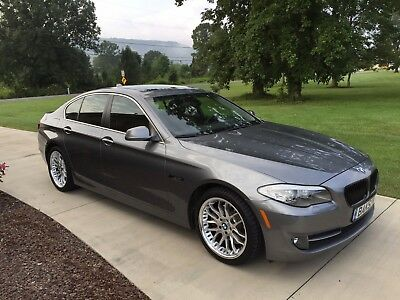 2011 BMW 5-Series 528I Bought at BMW dealer as a CPO. Black Grill, Custom Wheels, Remus Exhaust