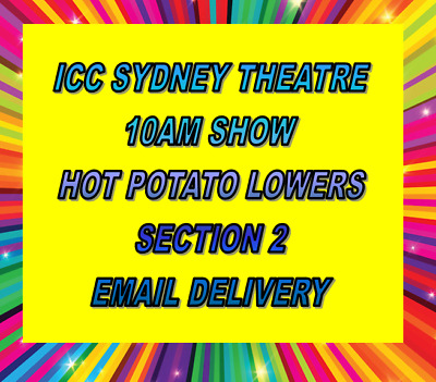 The Wiggles Sydney Icc Tickets Sunday 10 December - 10Am - Hot Potato Seats