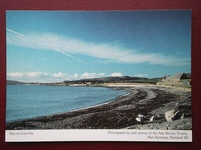 Postcard Isle Of Man Bay-Ny-Carricky - View From The Beach
