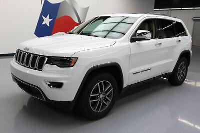 2017 Jeep Grand Cherokee Limited Sport Utility 4-Door 2017 JEEP GRAND CHEROKEE LTD PANO ROOF NAV LEATHER 20K #765591 Texas Direct Auto