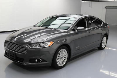 2016 Ford Fusion SE Hybrid Sedan 4-Door 2016 FORD FUSION SE HYBRID LEATHER NAV REAR CAM 55K MI #289935 Texas Direct Auto