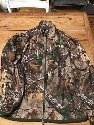 Under Armour 1231158 UA Rut Scent Control Real Tree Hunting Jacket Size Medium
