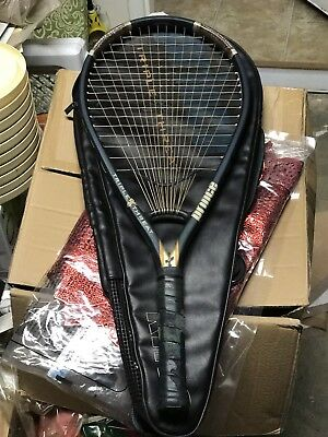 PRINCE TRIPLE THREAT RING. TENNIS RACQUET and BAG. Grip Size 3.