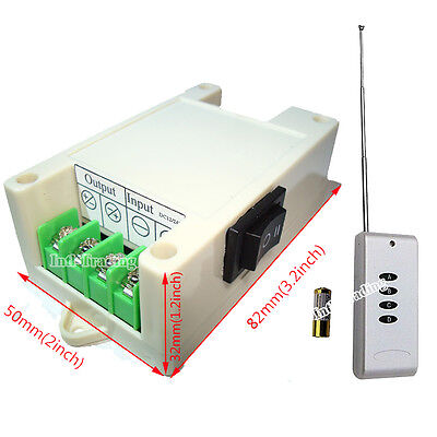DC12/24V Wireless Remote Control Kit Linear Actuators Motor Controller Door Open