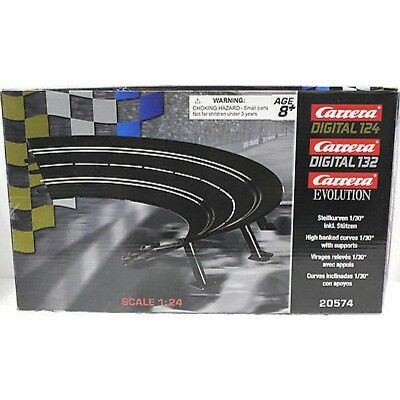 Carrera 20574 Exc/evo/digital High Banked Curve Track 1/30