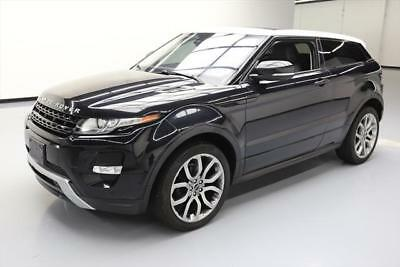 2012 Land Rover Evoque Dynamic Sport Utility 2-Door 2012 LAND ROVER EVOQUE DYNAMIC AWD PANO ROOF NAV 67K MI #612924 Texas Direct