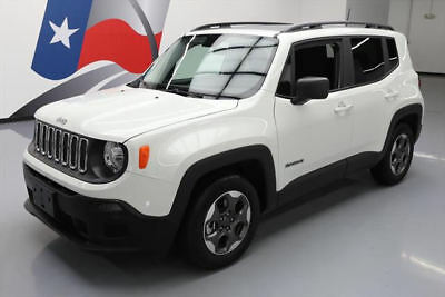 2017 Jeep Renegade Sport Sport Utility 4-Door 2017 JEEP RENEGADE SPORT 2.4L AUTO ALLOY WHEELS 914 MI #E80260 Texas Direct Auto