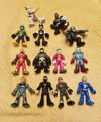 Fisher Price Imaginext figures 13 piece Lot