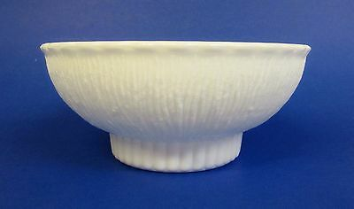 ** Vintage * 1975 * FTD Florist * Ultra White Thick Milk Glass * Vase Or Bowl **