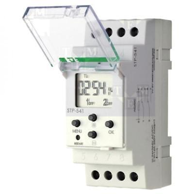 STP-541 Timer DPDT 24÷264VAC 24÷264VDC DIN OUT1250VAC/16A F AND F