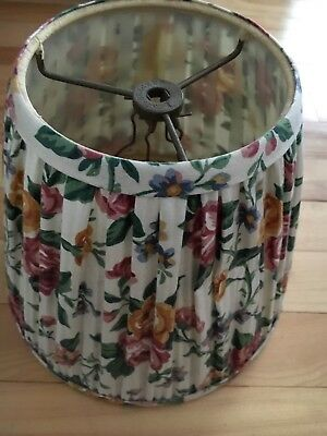 Longaberger lamp shade cloth floral