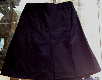 Girls size 16 BLACK Skirt - School uniform BNWT