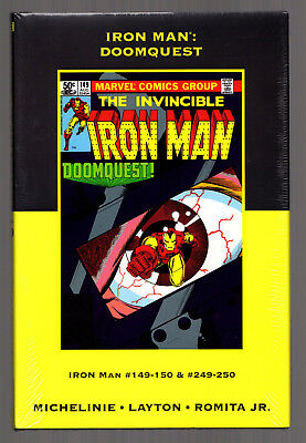 IRON MAN: DOOMQUEST (Marvel Premiere Classic Vol 10) HC Variant NEW/SEALED