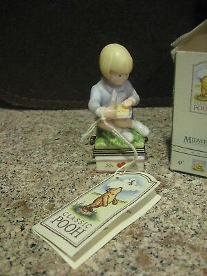 Midwest Of Cannon Falls Box- Winnie Pooh Series-Christopher Robin- With Book-Box